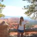 Standing by Bryce Canyon