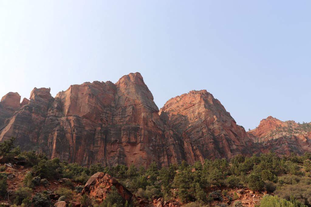Mountains in Zion